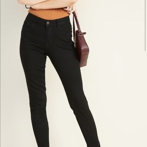 2/$10 Rock Star Mid-rise Black Jeans